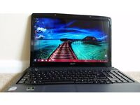 Acer Aspire 6930G gaming laptop great ratings and reviews, see specs in advert