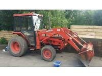 """""""Reduced Price"""" Kubota Tractor L3250 4wd with front loader, back hoe and flail mower."""