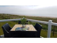 STUNNING LODGE WITH THE BEST VIEW ON THE SOLWAY COAST near dumfries,,keswick,penrith,wymes bay