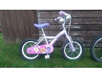 2 Girls Bikes in great condition,