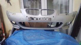 BMW 5 SERIES E60 E61 FRONT BUMPER