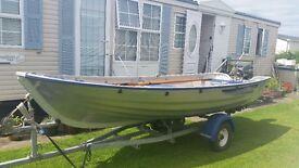 2012 Linder 440 4m Aluminium Fishing Boat plus Trailer, 2 motors & Weather Cover