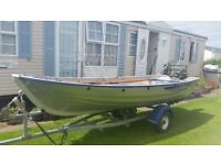 2012 Linder 440 4m Aluminium Fishing Boat plus Trailer, 2 motors & Weather Cover
