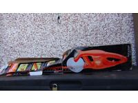 Flymo electric hedge trimmer as new