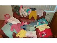 Massive baby girl clothes bundle sizes 0-3 3-6