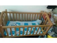 Mamas and papas baby bed