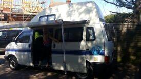 VW Campervan T4, 4 berth 5 seat Long wheel base.