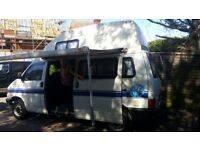VW Campervan T4, 4 berth 5 seat Long wheel base.