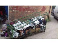 Retail Trolleys on Castors