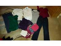 Maternity bundle mixed clothing, size 14