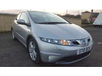 2010 Honda Civic Ex 2.2i-ctdi FULL SERVICE HISTORY,6SPEED,SAT NAV+BLUETOOTH