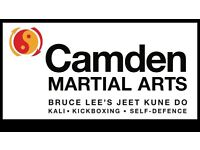 Camden Martial Arts - Jeet Kune Do, Kickboxing and Self-Defence classes in Kentish Town/Tufnell Park