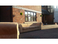 FREE DELIVERY - 5 & 3 seater fabric couch sofa