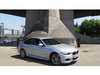 2013 63 BMW 330D 3.0 X DRIVE M SPORT AUTO SILVER 19K(2 YEARS AA WARRANTY)***FINANCE AVAILABLE***