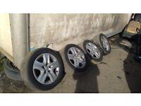 "Vauxhall Insignia set of wheels 17"" 225/55/17"