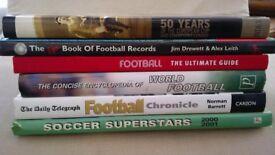 football books - various