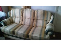 FREE - 3 seater sofa and 1 armchair