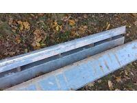 Steel cavity lintels (2385mm long and 2260mm long)