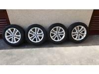 Hyundai 16 inch alloy wheels