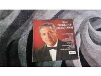 The world of Mantovani vintage vinyl lp record