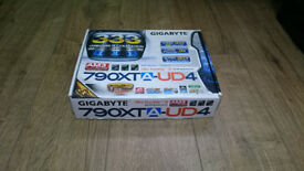 Motherboard Gigabyte 790XTA-UD4 with Hard drive WD Caviar 200 GB
