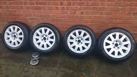 Audi alloys with winter tyres 255/50 R16
