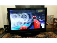 """LG 50"""" PLASMA BUILT IN FREEVIEW HD READY MINT CONDITION"""