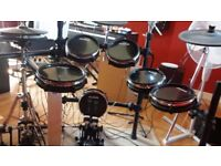 Alesis DM10 Electric Drumkit with Pro-X Hi-Hat, Stand and Double Kick Drum Pedal