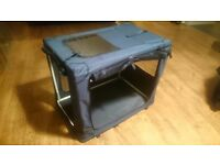 Fabric Dog Crate, Medium Size