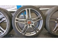 "19"" Civic type r alloys wheels and tyres genuine"