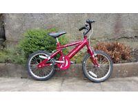Apollo Urchin Child's Bike Red Age 4-6