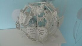 Butterfly ball pendant ceiling shade metal