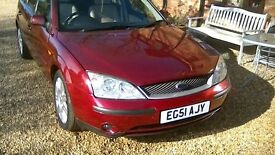 ford mondeo, 2ltr, ghia x, automatic
