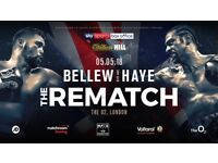 Bellew v Haye Boxing tickets The Rematch