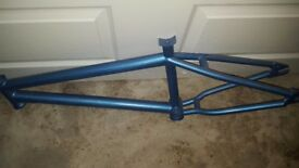 Premium bmx frame and stem