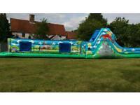 Bouncy castle hire, obstacle course hire