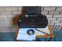 Printer Canon iP900 with starter CD and spare BLACK ink and connecting leads