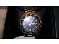 Accurist gold watch (BNIB)