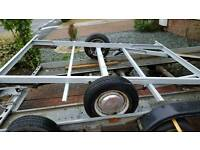 Trailer chassis all rolling free