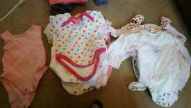 Newborn-3 month girls bundle