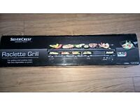 Raclette grilll. Extra slim. Brand new