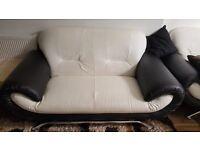 Leather Sofa Seat 3+2+1