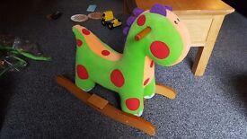Dinosaur rocking horse. Mamas and papas
