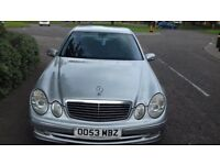 Selling w211 mersedes e320 silver