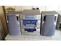 Goodmans stereo system.