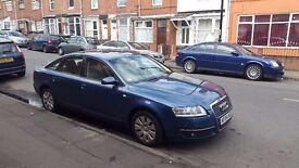 AUDI A6 for sale, very good condition, one owner, full service history, new MOT, full set of keys