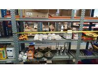 Freestanding shelving