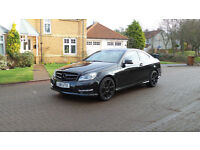 2011 61 MERCEDES-BENZ C CLASS 2.1 C220 CDI BLUEEFFICIENCY AMG SPORT ED125 2d AUTO