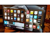 LUXOR 32-Inch SMART HD LED TV, Built-in Wifi,Freeview HD,Netflix, FULLY WORKING
