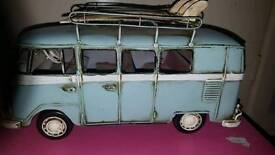 Campervan tin model
